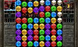 Puzzle Quest 2 Android Matching skulls to attack