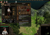 SpellForce 2: Shadow Wars Windows Hero's menu (PL)