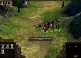 SpellForce 2: Shadow Wars Windows Battle against skeletons