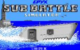 Sub Battle Simulator Amiga Title screen