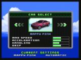 Ridge Racer Zeebo After beating the three first courses, four new cars are unlocked, like this Mappy Pink.