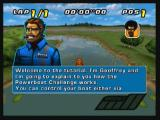 Powerboat Challenge Zeebo The tutorial. Here you learn the basics of the game: how to control your boat and how to pass by the buoys.
