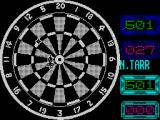 Jocky Wilson's Darts Challenge ZX Spectrum At the oche.