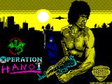 Operation Hanoi ZX Spectrum Loading screen.