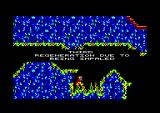 Doctor Who and the Mines of Terror Amstrad CPC Life was lost after falling on spikes
