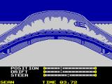 The Games: Winter Edition ZX Spectrum Hurtling at great speed.