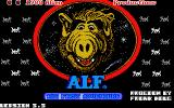 ALF: The First Adventure Atari ST Title screen
