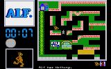 ALF: The First Adventure Atari ST Try to catch the neighborhood cats