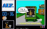 ALF: The First Adventure Atari ST The dog catcher caught Alf