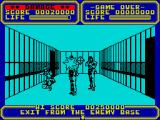 Line of Fire ZX Spectrum Escape from the base.