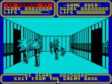 Line of Fire ZX Spectrum Shoot the enemies.
