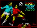 Kick Off 2 ZX Spectrum Loading screen.