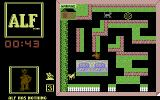 ALF: The First Adventure Commodore 64 Starting the game