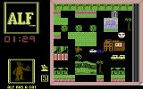 ALF: The First Adventure Commodore 64 Don't let Willie catch you...