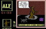 ALF: The First Adventure Commodore 64 Now I have to get rid of all the stuff I collected...