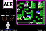 ALF: The First Adventure Apple II Try to catch the very quick cats...