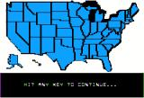 President Elect Apple II Carter loses by an even greater landslide than in the actual election!