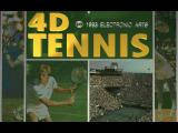 4D Sports Tennis FM Towns Title screen
