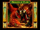 Dragons of Flame FM Towns Title screen