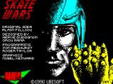Skateball ZX Spectrum Loading screen.