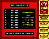 Anarchy Zone BBC Micro High Scores
