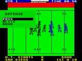Fantastic American Football ZX Spectrum Defence options.