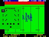 Fantastic American Football ZX Spectrum Pass atctics.