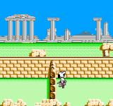 Snoopy's Silly Sports Spectacular NES Pogo Stick your way over various obstacles on the way to the finish line