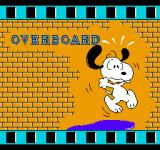 Snoopy's Silly Sports Spectacular NES The Overboard event