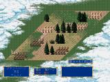 Genghis Khan II: Clan of the Gray Wolf FM Towns Battle in a forest