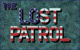 Lost Patrol Atari ST Title screen.