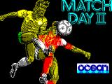 Match Day II ZX Spectrum Loading screen.