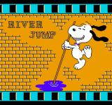 Snoopy's Silly Sports Spectacular NES The River Jump event