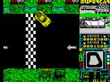 Super Stock Car ZX Spectrum Crashed.