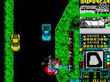Super Stock Car ZX Spectrum Avoid a collision.