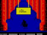 Dragon's Lair Part II: Escape from Singe's Castle ZX Spectrum Heading for the rapids.