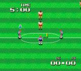 Super Soccer TurboGrafx-16 Kick-off.