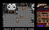 Indiana Jones and the Temple of Doom Atari ST Beginning the game, choose a difficulty level