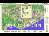 A-Train + Construction Set FM Towns Map construction mode