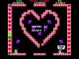 Bubble Bobble FM Towns I definitely see a heart!..