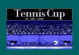 Tennis Cup Amstrad CPC Loading screen.