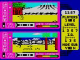 Spy vs. Spy: The Island Caper ZX Spectrum Exploring the island.