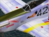 Tuskegee Fighters Windows Creamer's Dream is the raunchiest livery, and yes, there is a full frontal view on the other side.