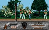 Wild Streets Atari ST Nice walk in the garden.