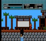 The Karate Kid NES The fall