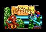 Space Harrier Amstrad CPC Loading screen.