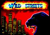 Wild Streets Amstrad CPC Loading screen.