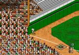 World Series Baseball '96 Genesis He couldn't catch it, it's a homerun.