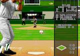 World Series Baseball '96 Genesis Place the ball in the rectangle and select a pitching option.