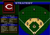 World Series Baseball '96 Genesis Defining the team strategy